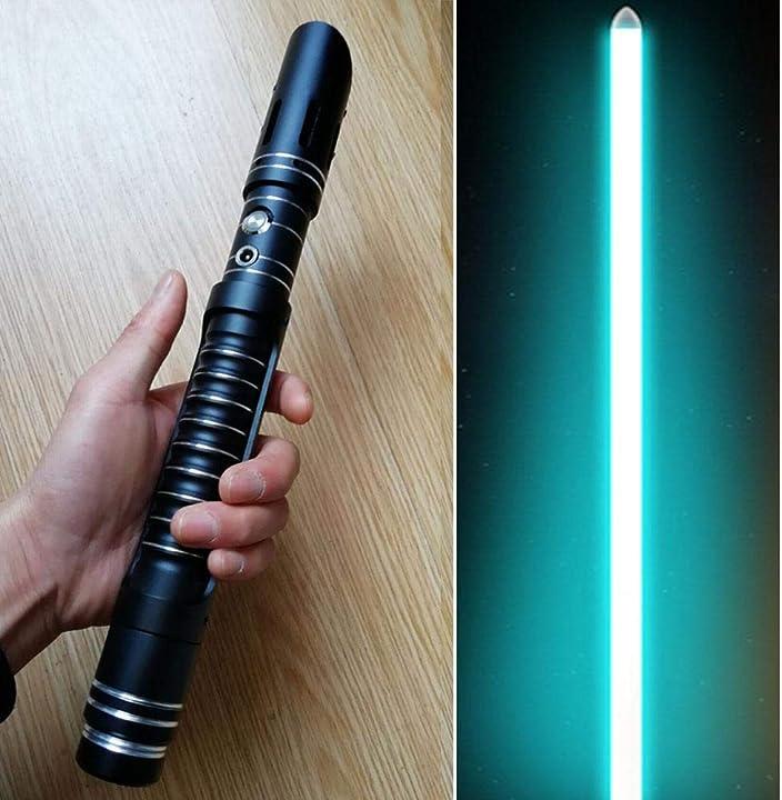 Spada star wars  luminosa metallo spada cosplay regalo giocattolo suono GYX-3DEEWB