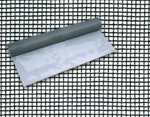 Rete Zanzariera in Fibra di Vetro 18X16 mm Altezza 150 cm Rotolo 30 mt Maurer