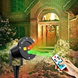 OxyLED Outdoor Christmas Projector Lights, RG Landscape Projector Light with Remote Controller for...