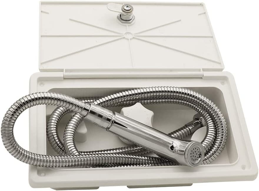 N P RV Outdoor Shower New York Super Special SALE held Mall Kit Faucet Exterior Box for