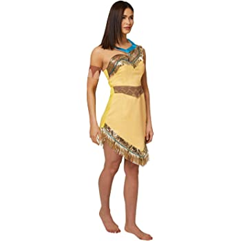 Rubiess Official Ladies Disney Pocahontas, disfraz para adulto ...