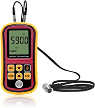 Signstek Digital Ultrasonic Thickness Gauge Meter Tester, Range 1.2~225mm