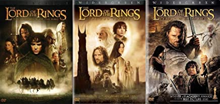 The Lord of the Rings Collection (3-Movies DVD set-Widescreen)