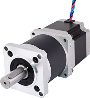 STEPPERONLINE 5:1 High Precision Planetary Gearbox Nema 23 Geared Stepper Motor 2.8A for 3D Printer/CNC Mill Lathe Router