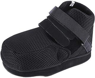 Calzado postoperatorio, zapatos de descompresión del pie Calzado de yeso con reducción del peso del pie Ideal para apósitos voluminosos después de operaciones de pie, talón, dedo del pie etc.