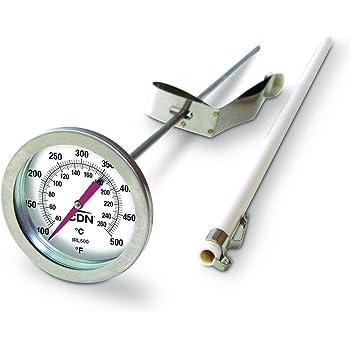 "CDN IRL500 Long Stem Fry Thermometer – 12"""