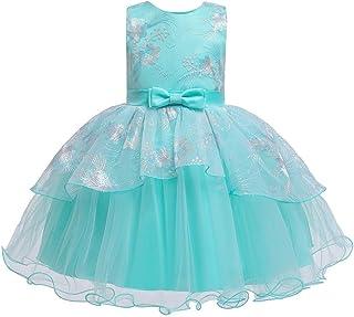 Cocaker Girl Formal Dress Party Dress for Girl Christmas Dress Baby Girl Princess Tulle Dresses