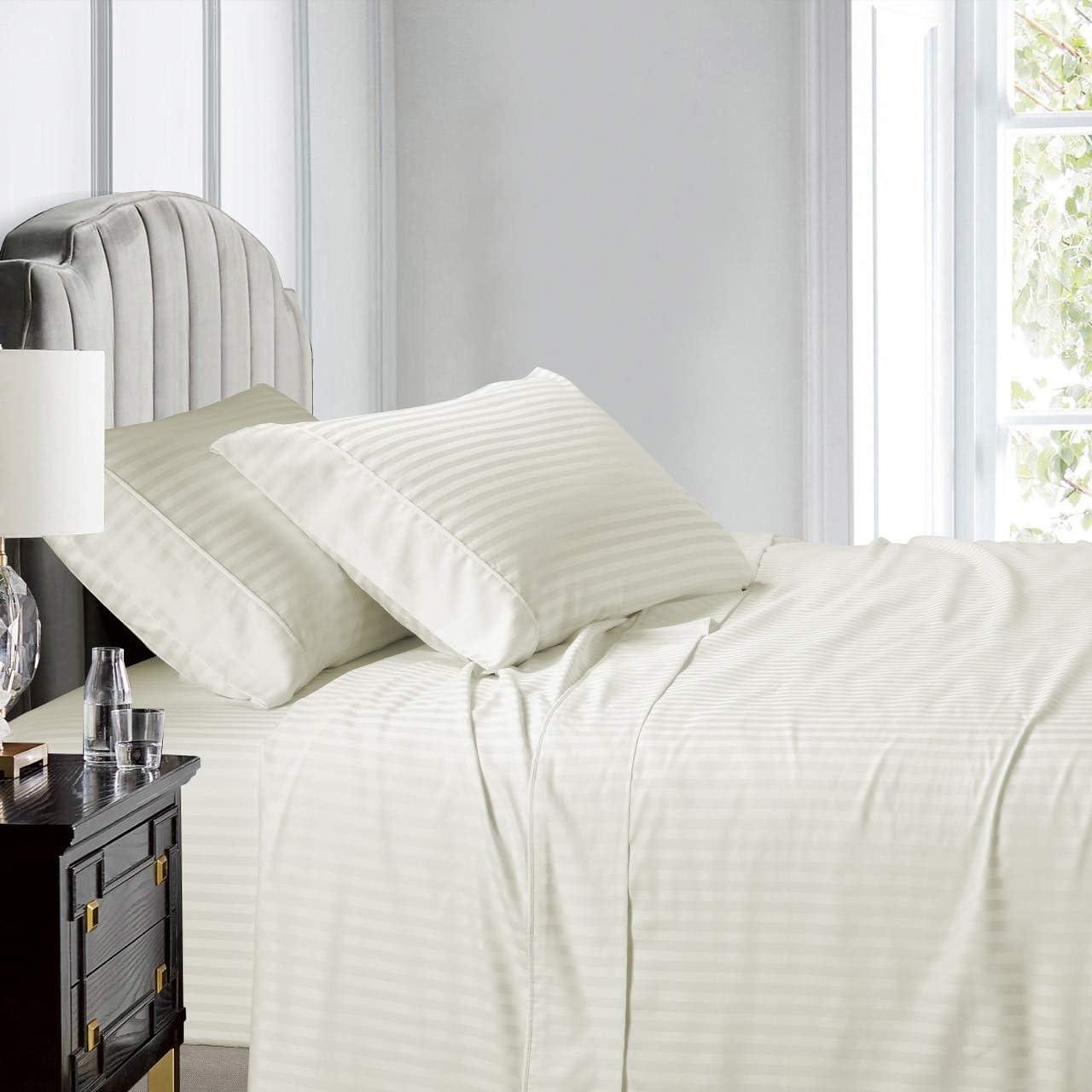 COTTONWALAS True Heavy Supima ELS Cotton Size Twin Cheap SALE Start XL Shee Max 81% OFF 4-PCs