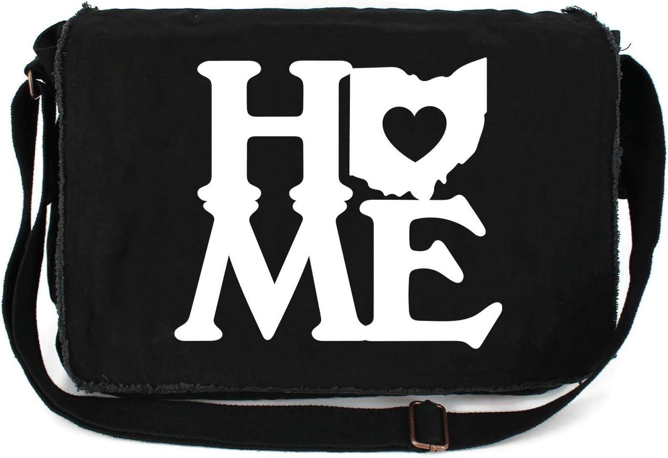 HARD EDGE DESIGN Ohio Home State famous Block Raw Heart Custom Wholesale Printed