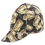 Comeaux Caps 10758 Deep Round Crown Caps, 7 5/8', Assorted Prints