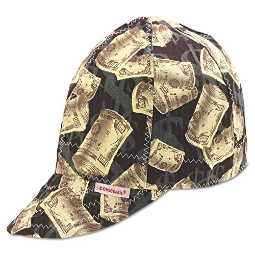 "Comeaux Caps 10758 Deep Round Crown Caps, 7 5/8"", Assorted Prints"