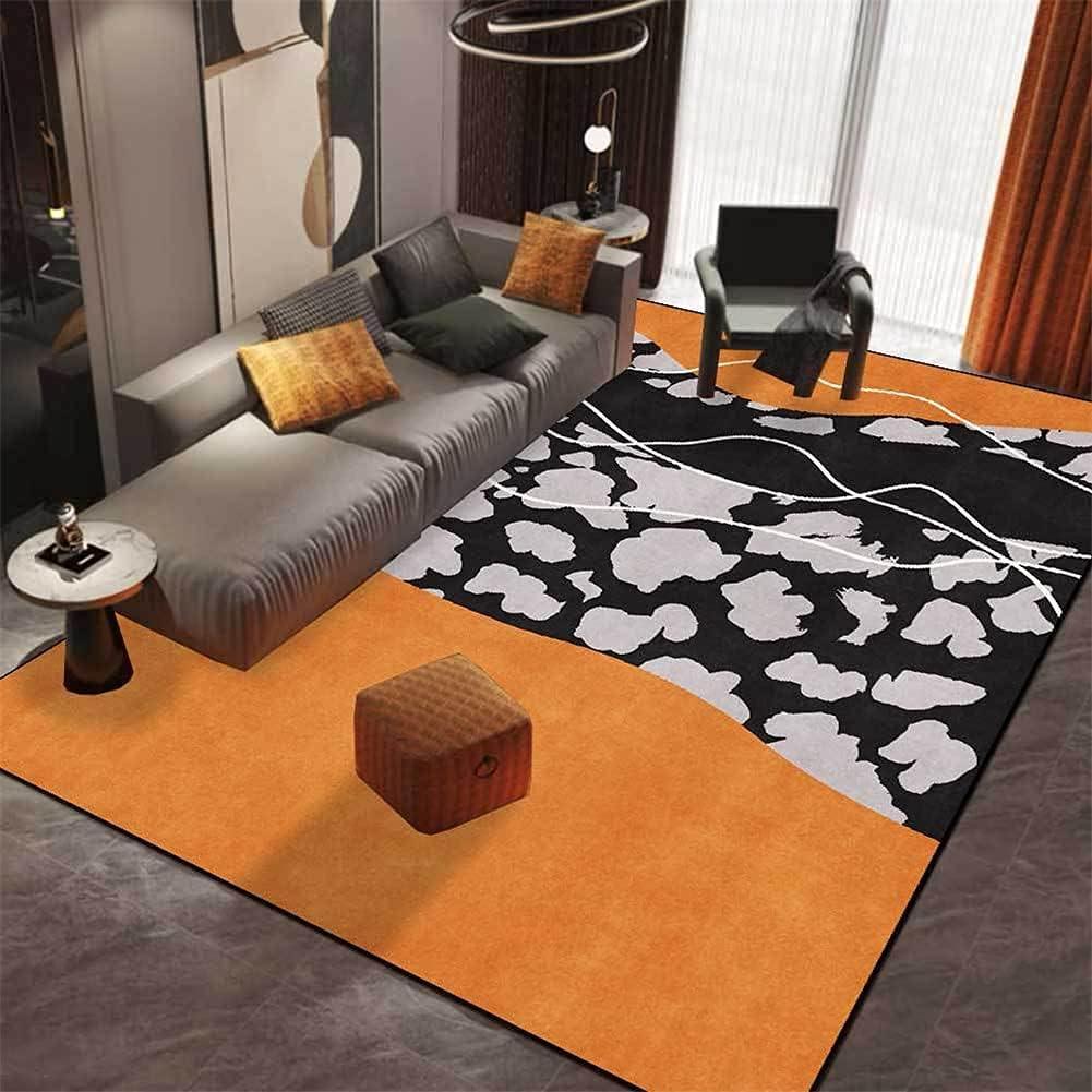 Cheap sale LBMTFFFFFF Carpet Washington Mall Rug Rugs Modern Abstract Orange-Yel