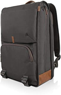 "Lenovo 15.6"" Laptop Urban Backpack B810, 15.6-Inch Laptop or Tablet, Sturdy, Water-Resistant Fabric, Padded Compartment, Anti-Theft Pocket, Business Casual, Travel or School, GX40R47785, Black"
