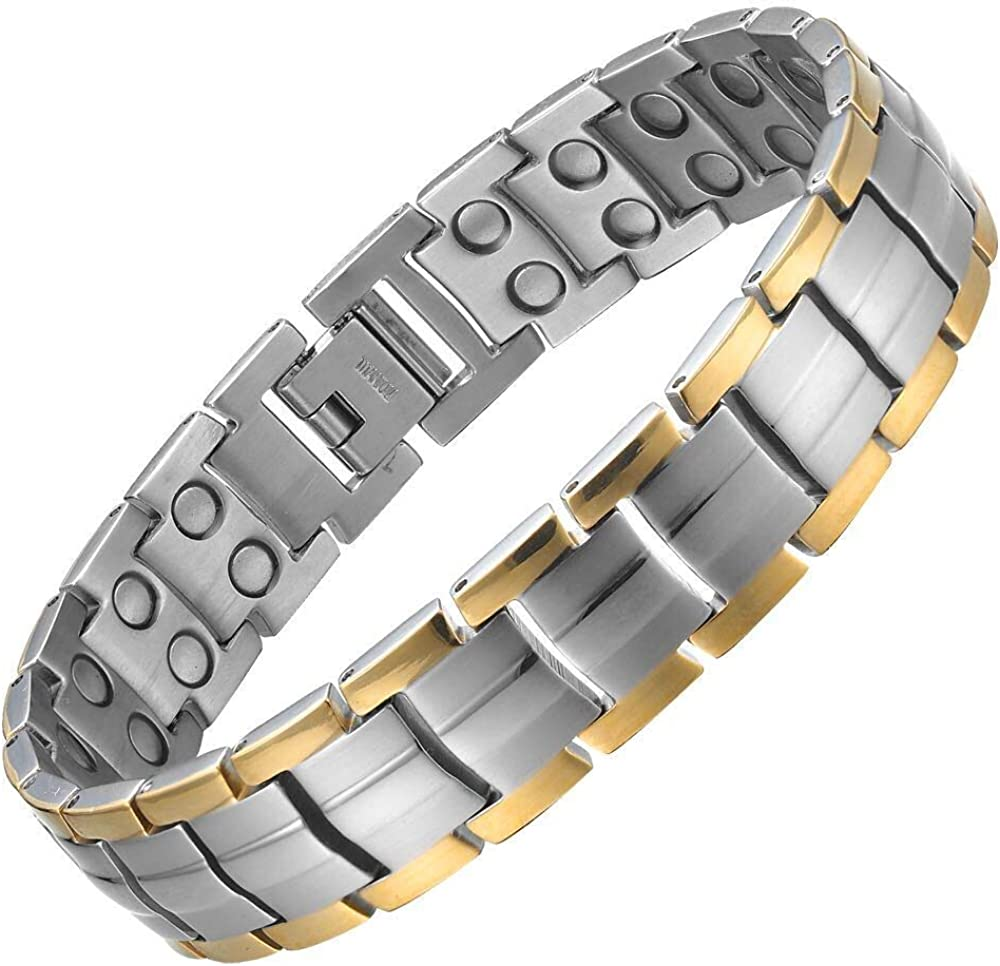 Willis Judd Double Ranking TOP12 Strength Titanium Therapy Magnetic San Francisco Mall f Bracelet