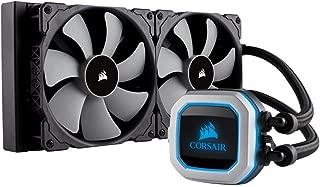CORSAIR HYDRO Series H115i PRO RGB AIO Liquid CPU Cooler,280mm, Dual ML140 PWM Fans, Intel 115x/2066, AMD AM4