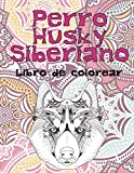 Perro Husky Siberiano - Libro de colorear