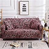 Funda elástica para sofá, Funda elástica elástica para sofá seccional, Funda para sillón en Forma de L, Funda para sillón, 26_90-140cm, Protector Antideslizante para sofá