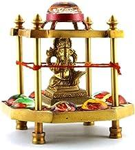 Shri Ashtavinayak Yantra Chowki in Brass/ Ganesh Yantra Chowki / Ganpati Yantra Chowki