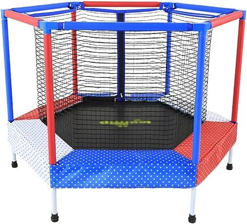 marca famosa Lkk Trampolín rojo trampolín Hogar trampolín Interior Juguete trampolín Fitness Fitness Fitness trampolín Puede soportar 50 kg (Color   azul, Talla   122  122  87CM)  descuentos y mas