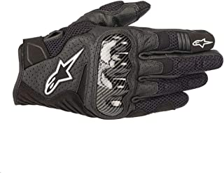 Alpinestars SMX-1 Air V2 Motorcycle Riding/Racing Glove (Large, Black)