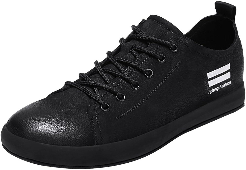 Mans skor läder Springaa Drive skor Comfort skor Casual Office och biler utomhus springaning skor Casual resa Sports Athletic skor (Färg  B, Storlek  42)