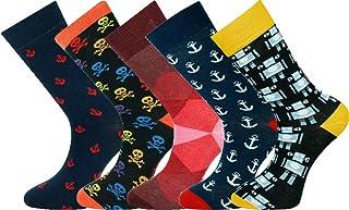 Calcetines tobilleros de 5 pares de hombres tamaño 40-45