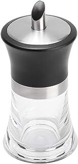 Set d'assaisonnement en boîte d'épices JAR de sucre acrylique transparent Sel Poivre Poivre Poivre Poudre Organisateur Boî...