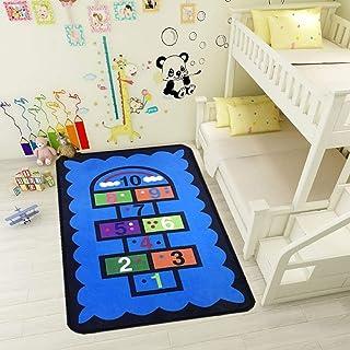 whmyz 3D imprimé Tapis pour Enfants Salon Table Basse canapé Tapis Chambre Chevet Couverture Cuisine Couloir Tapis antidér...
