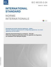 IEC 60335-2-24 Ed. 8.0 b:2020, 8th Edition: Household and similar electrical appliances - Safety - Part 2-24: Particular r...