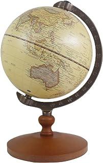 Sponsored Ad - 5 inch Tiny Brown Vintage World Globe Antique Decorative Desktop Globe Rotating Earth Geography Globe Woode...