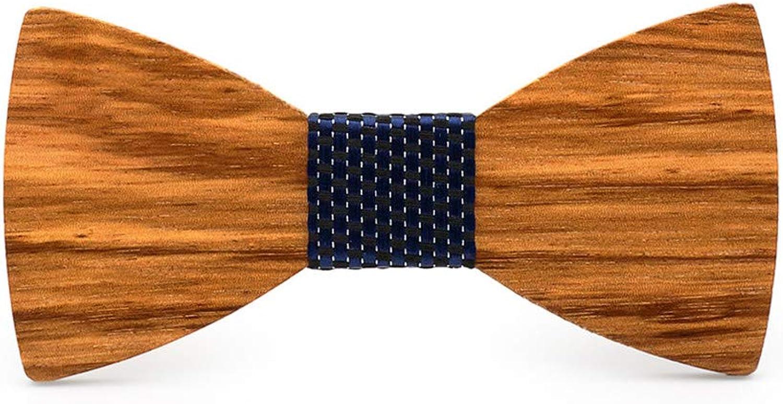 Bow Tie Wooden Man Wedding Party Tie Handmade Wood Tie Business Men and Women