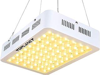 TOPLANET 300w Led para Plantas Lampara de Cultivo Iluminacion Crecimiento Completo Luz Espectro para Interior/