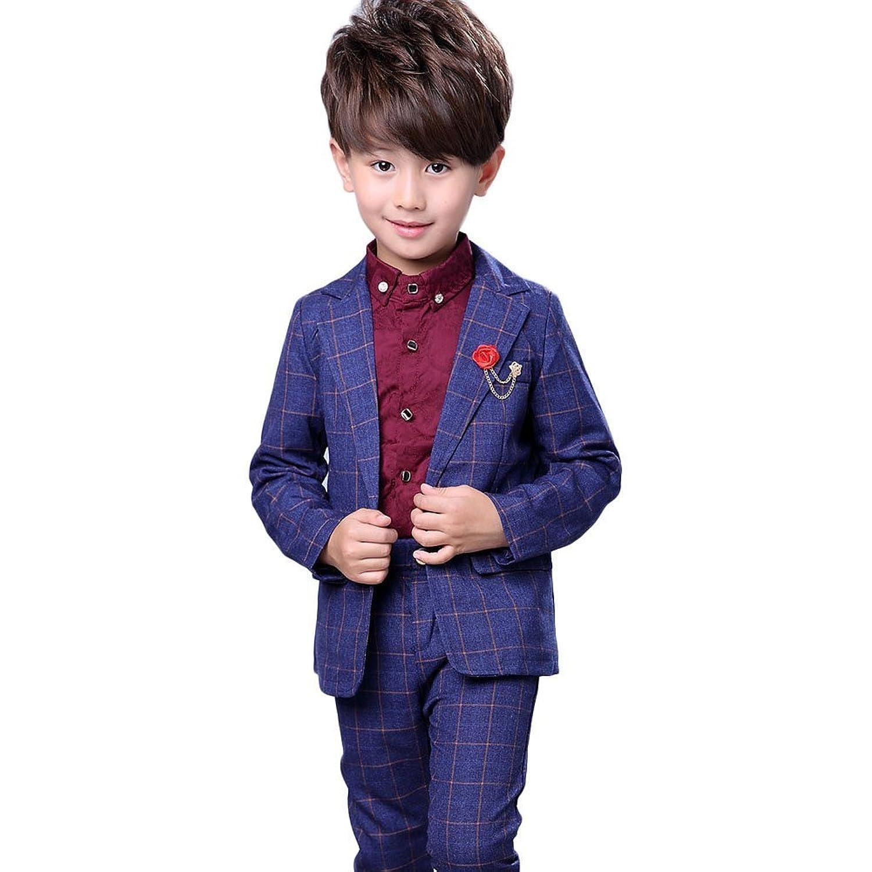 topmodelss フォーマル スーツ 子供スーツ 男の子 ジャケット ズボン シャツ 子供服3点セット 紳士服 卒園式 入学式 結婚式 発表会