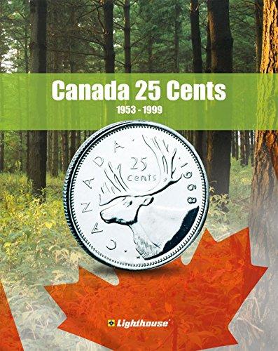 Lighthouse VISTA Coin Album for Canada 25 Cent, Vol. 2 1953 – 1999