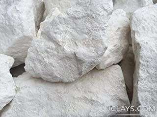 White Edible Clay Chunks Natural for Eating, Edible Clay, White Dirt, 8 oz (220 g)
