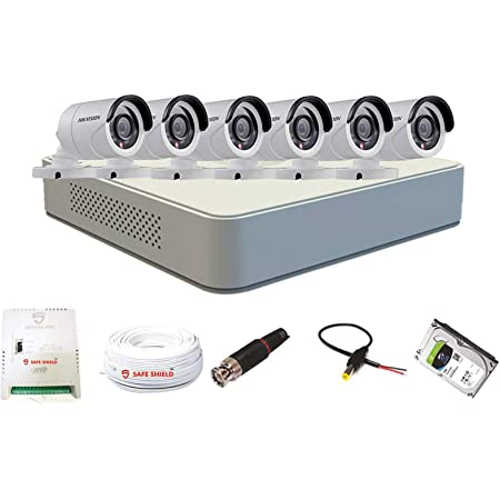 HIKVISION 1080p HD CCTV Camera Kit, White