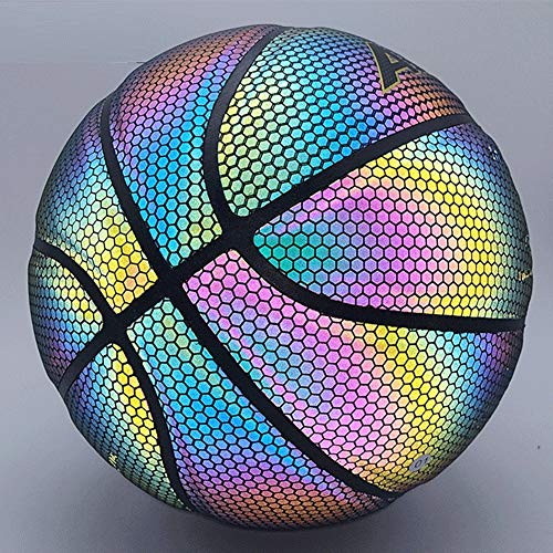 Learn More About DUTUI Luminous Basketball, Glowing Basketball Fluorescent Size 7 Basketball, Street...