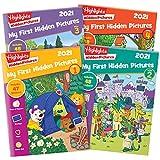 Highlights My First Hidden Pictures 2021 4-Book Set