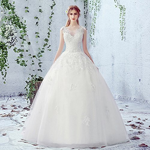 u&h HU Elegante Vestido de Novia Vestidos de Novia Vestido de Novia,A,L