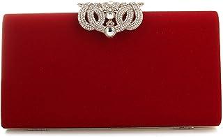 YYW Bolso de noche, diseñador de moda para mujer Cristal Diamante bolso de embrague Bolso