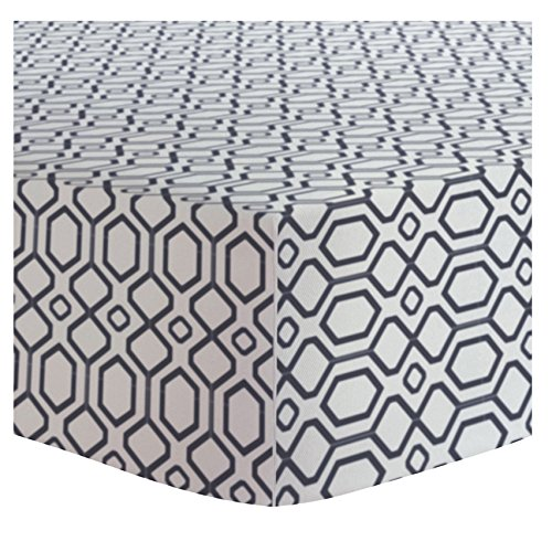 Affordable Kushies Portable Play Pen Fitted Sheet Flannel, Octagon Navy