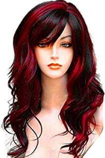 Long Curly Wavy Wig Synthetic Full Hair Wig for Women Cosplay Costume Party Anime Wigs