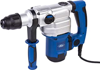 Ford 1050 Watts 38mm Rotary Hammer, Corded Electric 9kg Combination Hammer Drill, Heavy Duty Power Tool - Chisel and Breaker