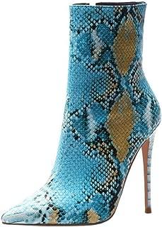 FANIMILA Women Fashion Autumn Boots Stiletto High Heels Shoes
