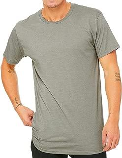 Camiseta con Cuerpo Largo Modelo Urban Hombre Caballero (Grande (L)) (Piedra Jaspeado)