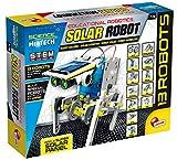 Lisciani Giochi, Scienze Hi Tech, Robot, 14 modelos, energía solar, Multicolor, 33 x 25 cm (73252)