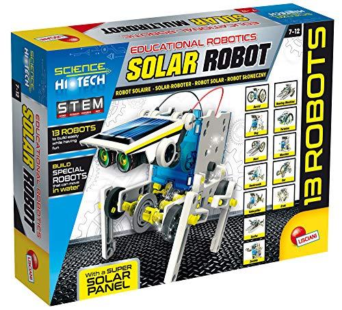 Lisciani 73252, 73252, Robot Solare - Multirobot 14 Modelli Energia Solare/Movimento-73252, Multicolore