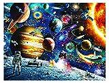 Espacio Puzzle 1500 Piezas Rompecabezas, Puzzles de Espacio para Adultos Niños, Educational Game para Aliviar Estrés Juego Intelectual Cerebro Desafío, Los Reyes Magos Navidad Juguete De Regalo Ideal