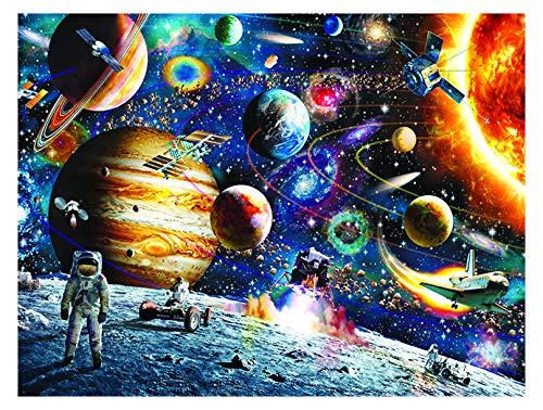 Espacio Puzzle 500 Piezas Rompecabezas,Puzzles de Espacio para Adultos Niños, Educational Game para Aliviar Estrés Juego Intelectual Cerebro Desafío, Los Reyes Magos Navidad Juguete De Regalo Ideal