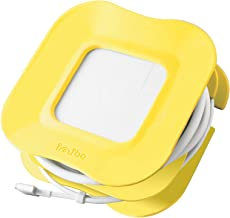 Yellow Cable Organizer Tidy Cord Wrap for 15